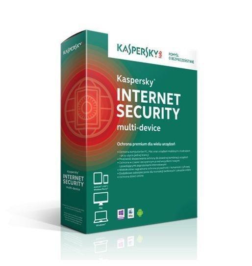 Licencja BOX Kaspersky Internet Security - multi-device 2 stanowiska 1 rok