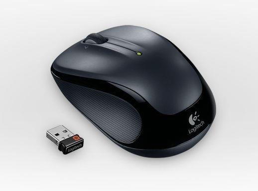 Mysz bezprzewodowa Logitech M325 Dark optyczna czarna