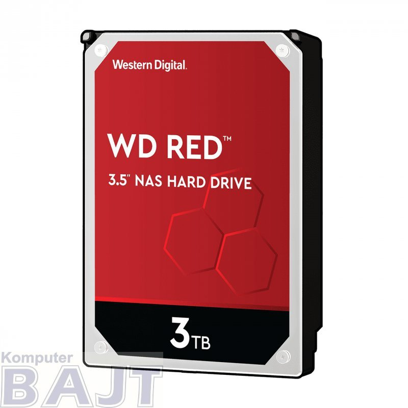 """Dysk HDD WD Red WD30EFAX (3 TB ; 3.5""""; 256 MB; 5400 obr/min)"""