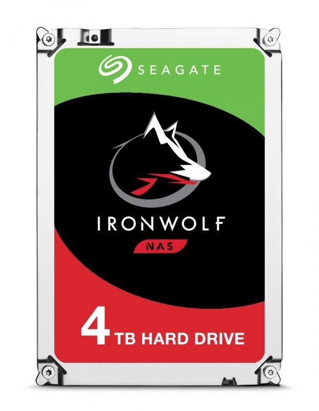 "Dysk HDD Seagate IronWolf ST4000VN008 (4 TB ; 3.5""; 64 MB; 5900 obr/min)"