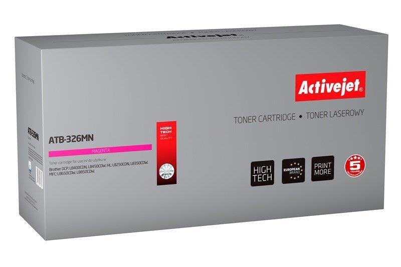 Toner Activejet ATB-326MN (zamiennik Brother TN-326M; Supreme; 3500 stron; czerwony)