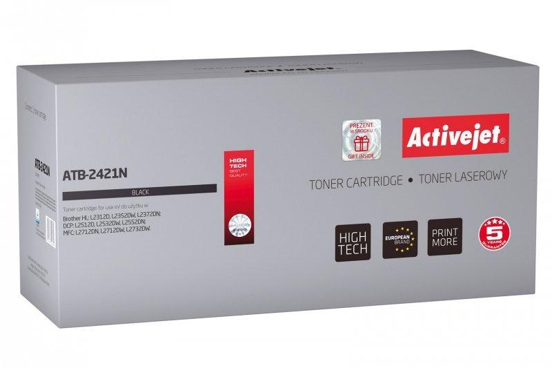 Toner Activejet ATB-2421N (zamiennik Brother TN-2421; Supreme; 3000 stron; czarny)