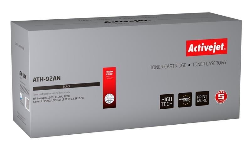 Toner Activejet ATH-92AN (zamiennik HP 92A C4092A, Canon EP-22; Premium; 2500 stron; czarny)