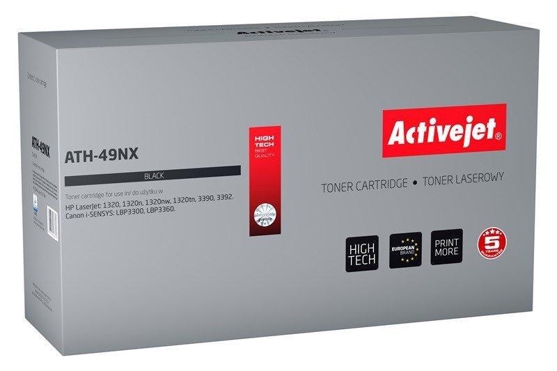 Toner Activejet ATH-49NX (zamiennik HP 49X Q5949X, Canon CRG-708H; Supreme; 6000 stron; czarny)