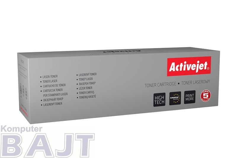 Toner Activejet ATH-403N (zamiennik HP 507A CE403A; Supreme; 6000 stron; czerwony)