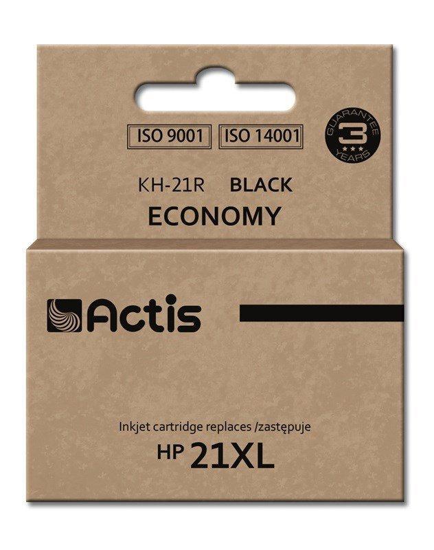 Tusz ACTIS KH-21R (zamiennik HP 21XL C9351A; Standard; 20 ml; czarny)