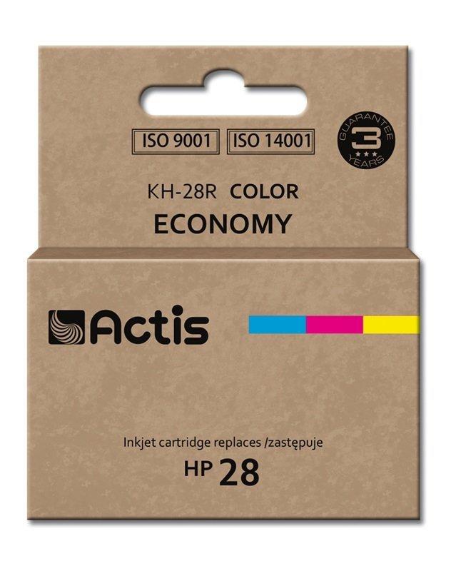 Tusz ACTIS KH-28R (zamiennik HP 28 C8728A; Standard; 21 ml; kolor)