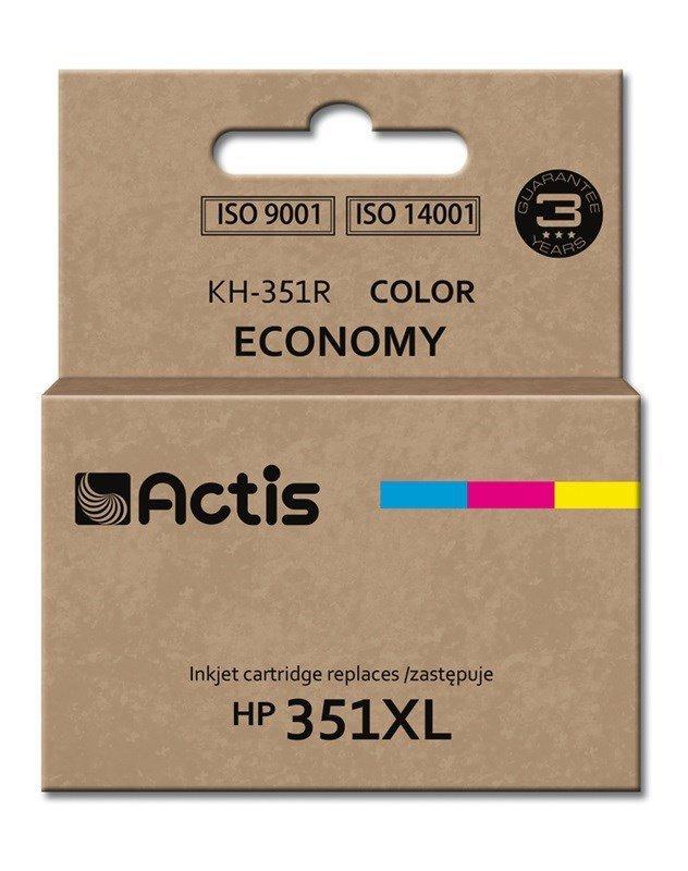Tusz ACTIS KH-351R (zamiennik HP 351XL CB338EE; Standard; 21 ml; kolor)