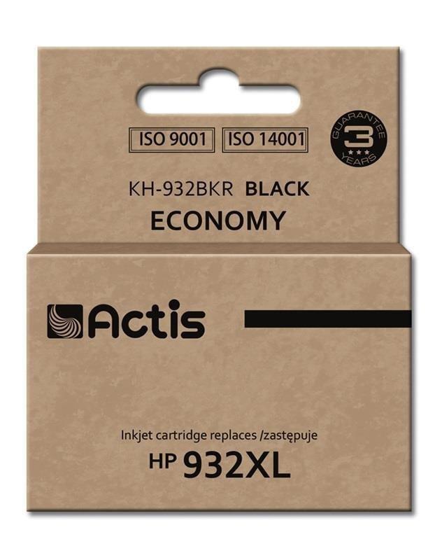 Tusz ACTIS KH-932BKR (zamiennik HP 932XL CN053AE; Standard; 30 ml; czarny)