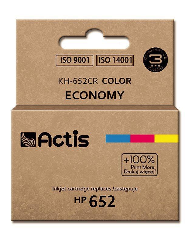 Tusz ACTIS KH-652CR (zamiennik HP 652 F6V24AE; Standard; 15 ml; kolor)