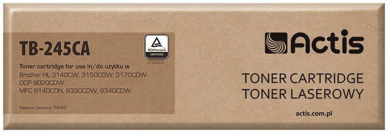 Toner ACTIS TB-245CA (zamiennik Brother TN-245C; Supreme; 2200 stron; niebieski)