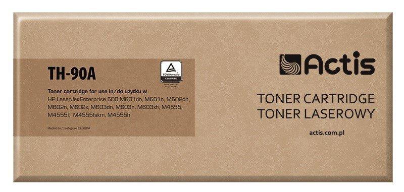 Toner ACTIS TH-90A (zamiennik HP 90A CE390A; Standard; 10000 stron; czarny)