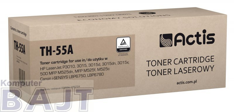 Actis toner do HP 55A CE255A new TH-55A