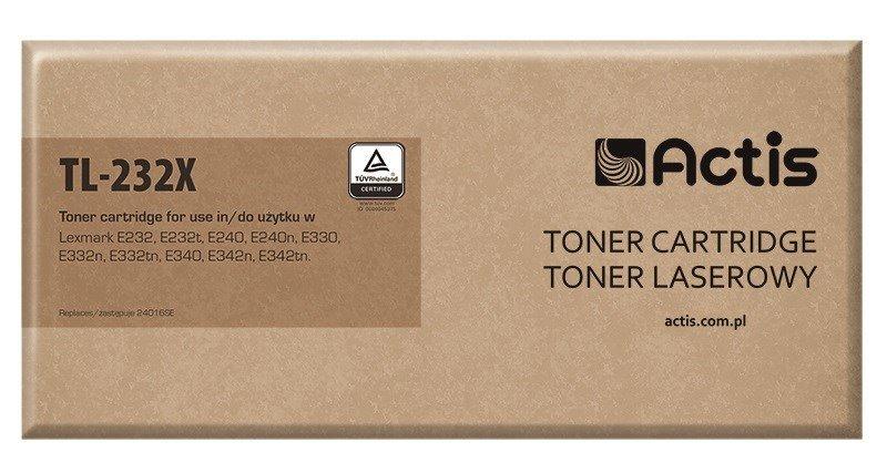 Toner ACTIS TL-232X (zamiennik Lexmark 24016SE/34016SE; Standard; 6000 stron; czarny)