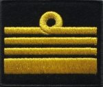 oznaka stopnia do kurtki lub swetra MW komandor