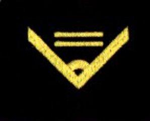 oznaka stopnia do kurtki lub swetra MW starszy chorąży