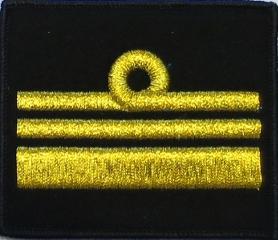 oznaka stopnia do kurtki lub swetra MW komandor porucznik