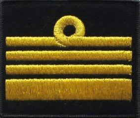 oznaka stopnia MW komandor