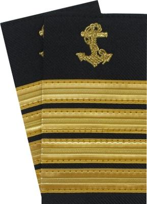 pagony kapitana, captain's epaulettes