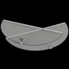 Miodarka 3-ramkowa diagonalna (zestaw)