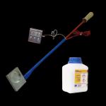 Parownik (sublimator) kwasu szczawiowego z termometrem