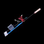 Parownik (sublimator) kwasu szczawiowego z podwójną grzałką i termometrem