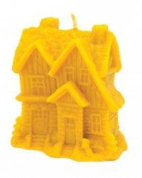 Forma silikonowa - Zimowy domek z choinkami