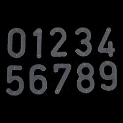 Cyfry do znakowania komplet na 20 uli