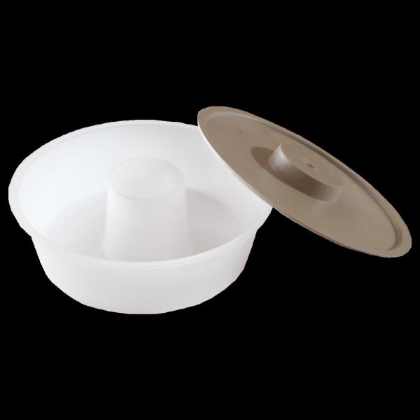 Podkarmiaczka powałkowa z pokrywą okrągła 2,4L