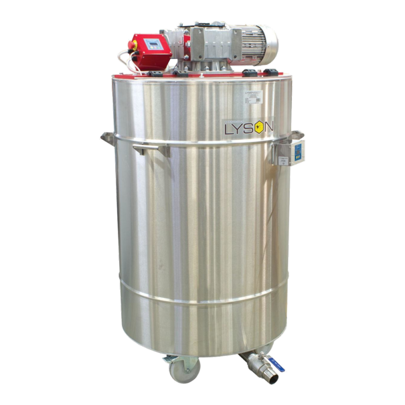 Urządzenie do kremowania miodu 600 L (400V) z płaszczem grzewczym (na dekrystalizatorze) ze sterownikiem automatycznym
