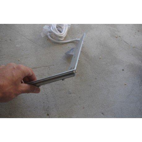 Nóż parowy typu V