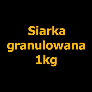 Siarka granulowana - 1kg