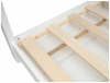 Chatka Puchatka - drewniane łóżko domek z szufladami - do materaca 160x80cm