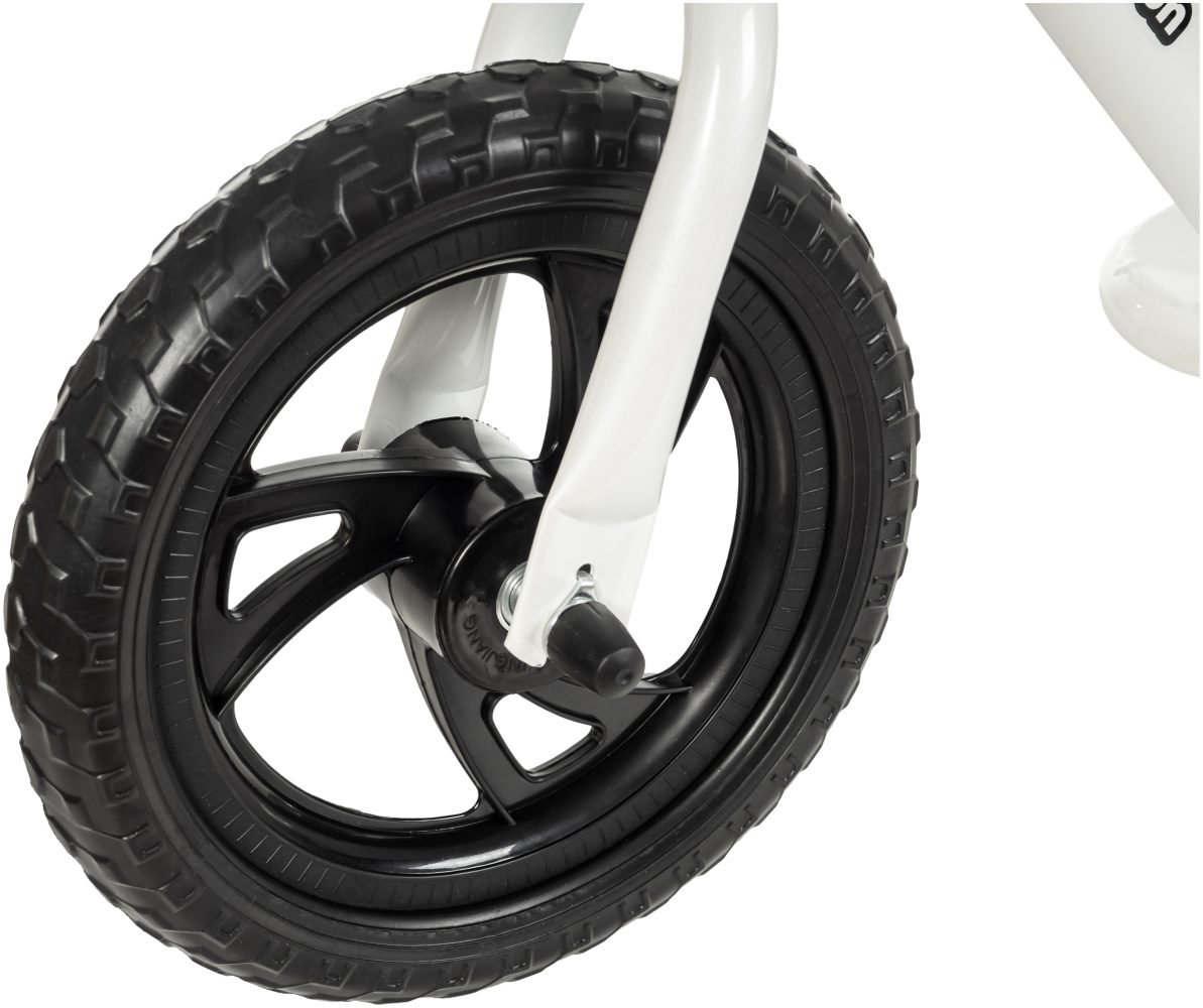 Rowerek biegowy HyperMotion VILANO EVA - piankowe koła - biały