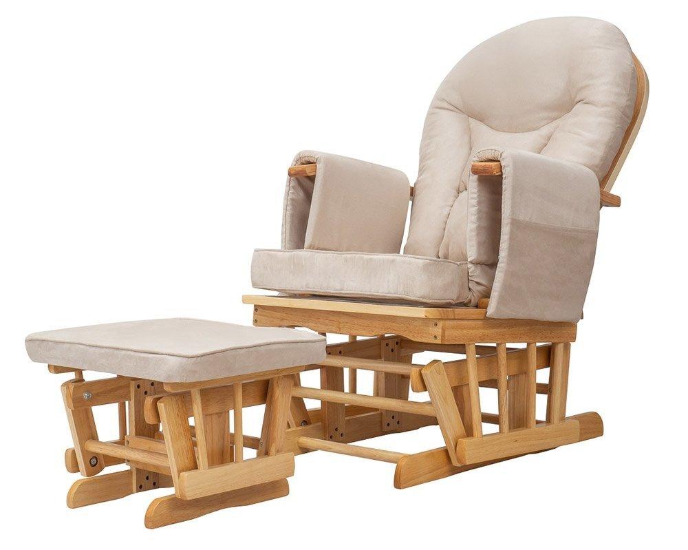 Mimola - Fotel do karmienia z podnóżkiem