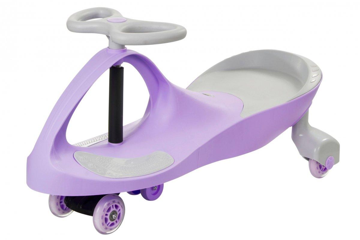Pojazd dziecięcy TwistCar - Pastelovy fiolet Świecące kółka!