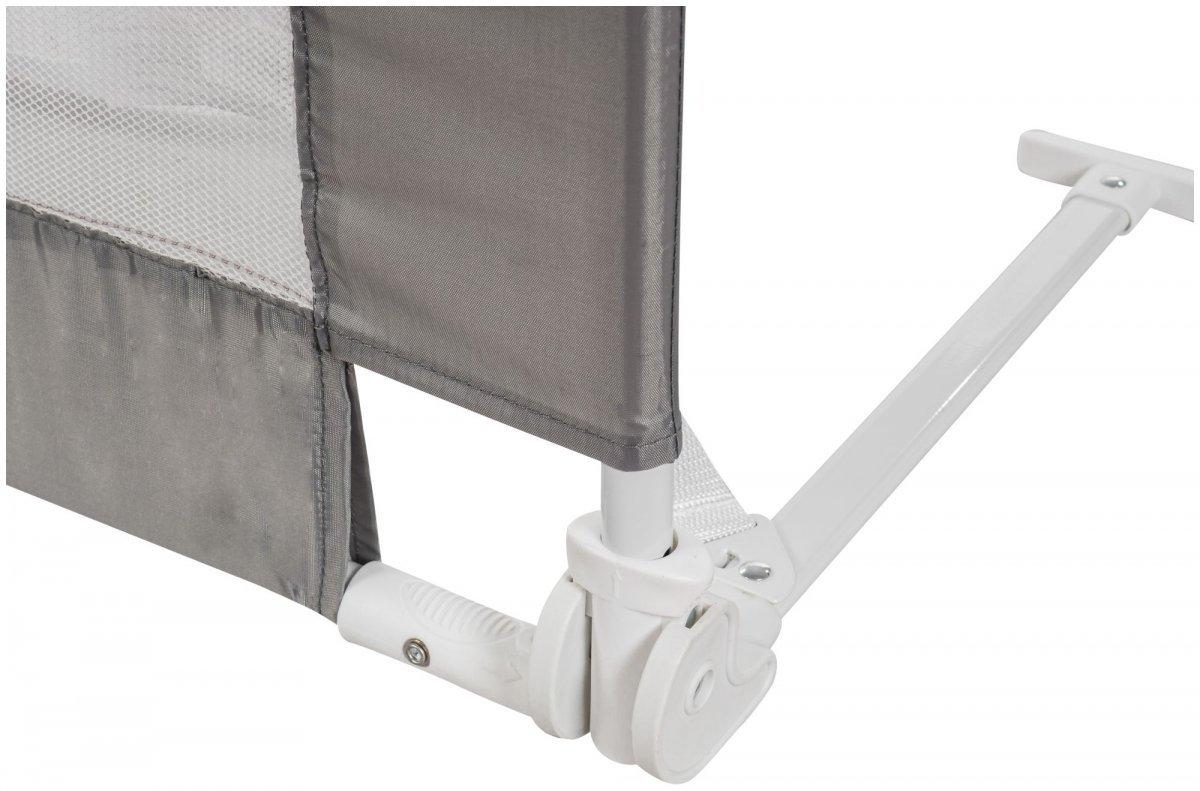 Barierka Ochronna do Łóżka - bramka BED RAIL - kolor szary