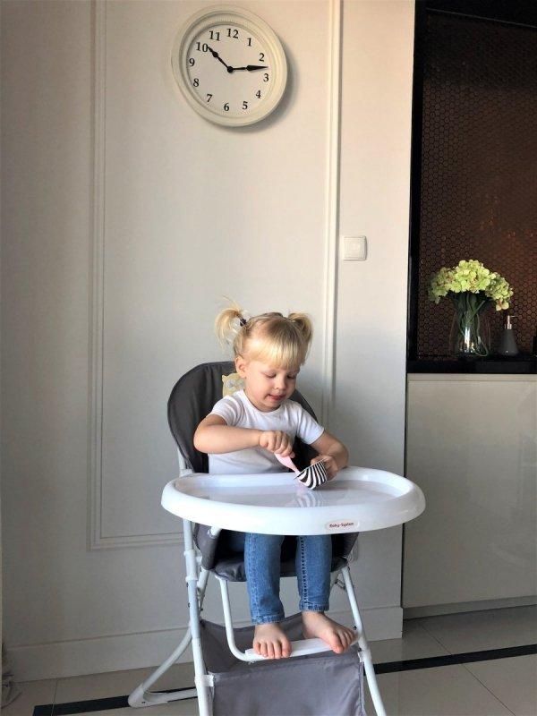 Składane krzesełko do karmienia - LENA