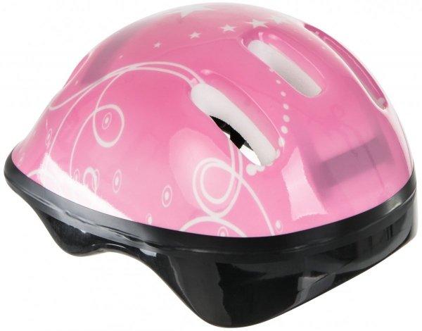 Kask dziecięcy - kolor różowy