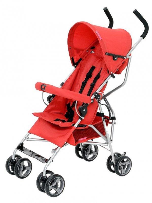 Wózek spacerowy Barton Czerwony