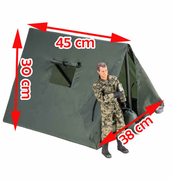 Wojskowy namiot - 90619