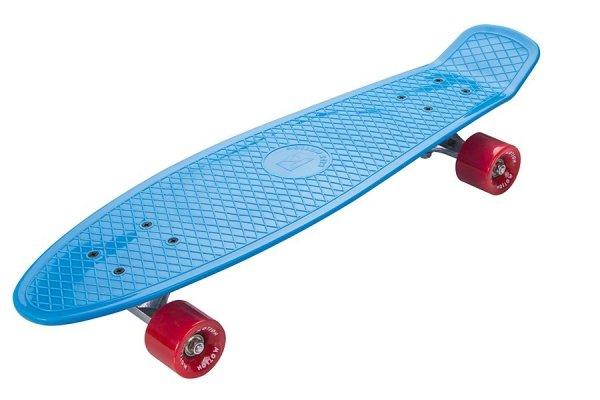 Deskorolka Fiszka 70cm - Deckboard 205 niebieski