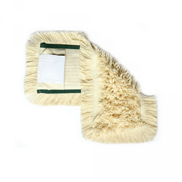 Mop bawełniany DUO kieszeń + klips 40cm