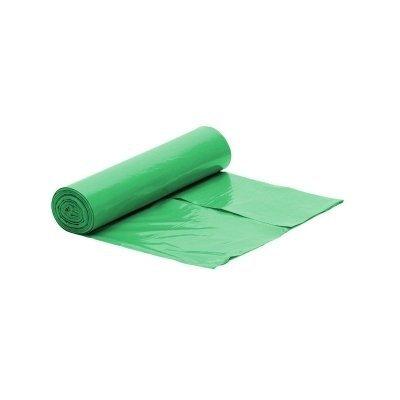 Worek zielony na śmieci LDPE 120 L/rolka 25 szt