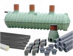 Przydomowa oczyszczalnia ścieków 11000L T
