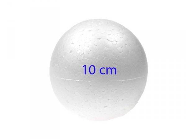 KULA STYROPIANOWA KULA BOMBKA BOMBKI 10 cm