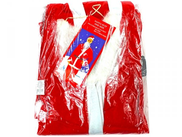 5190 STRÓJ MIKOŁAJA Święty Mikołaj Kostium Uniwersalny