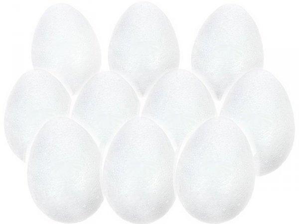 JAJKO STYROPIANOWE 9 cm Jajka Wielkanoc