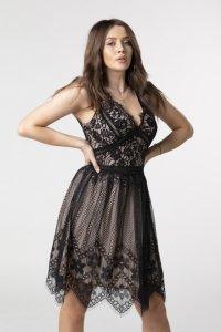 Sukienka koronkowa z dekoltem M79282_1