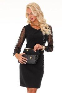 1 Nausica Black 85315 sukienka czarna PROMO